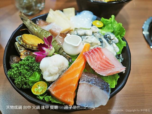 天物成鍋 台中 火鍋 逢甲 餐廳  53