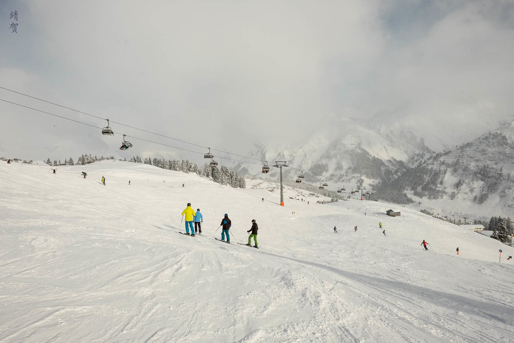 By the Hasensprung chairlift
