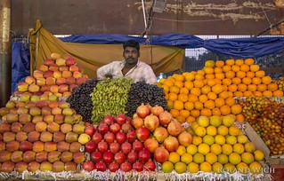 Tiruchirappalli - Fruit Stand