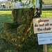 Please do not sit on the chair sign, Hay Festival, Hay-on-Wye, Wales, UK by gruntzooki