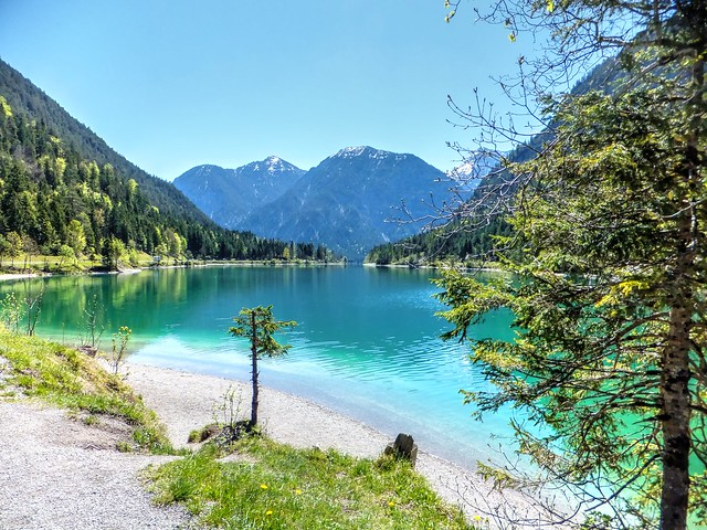 Am Plansee in Tirol, Fujifilm FinePix F550EXR
