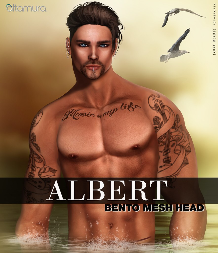 "Altamura: ""ALBERT"" BENTO Head - SecondLifeHub.com"