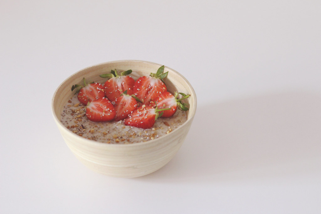 Porridge - Strawberries