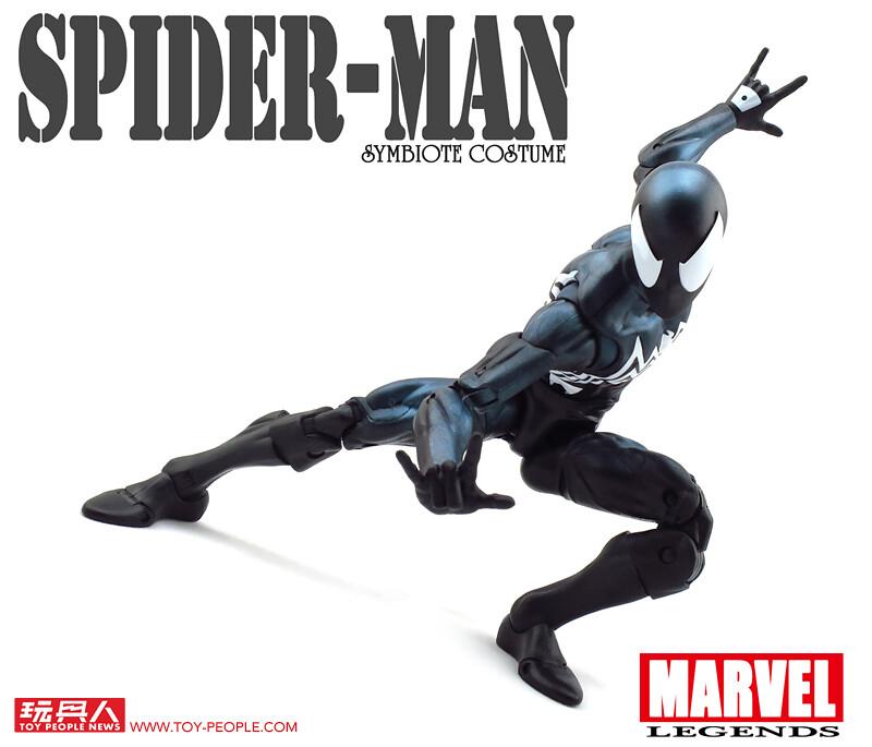 除了尺寸,內心黑暗面也是放大再放大!孩之寶漫威傳奇系列12吋「蜘蛛人共生體戰衣」 開箱報告