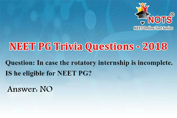 NEET PG Trivia Questions - NOTS (NEET Online Test Series) | Flickr