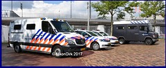 Dutch Police Mercedes and VW.