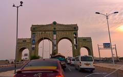 Entering Hodeidah, Yemen