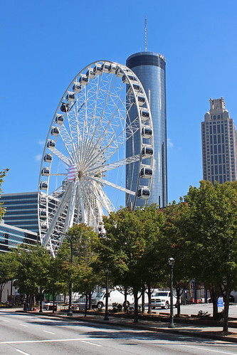 skyview atlanta sky view architecture october 2016 ga georgia ferris wheel westin