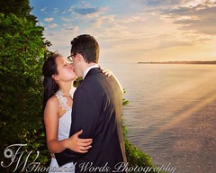 """To have and to hold, from this day forward ..."" #wedding #thekiss #vows #weddingphotography #goldenhour #sunset #weddingceremony #love #weddingday #kiss #weddingphotographer"