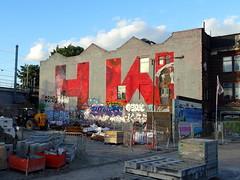 Street art in Hackney Wick, London