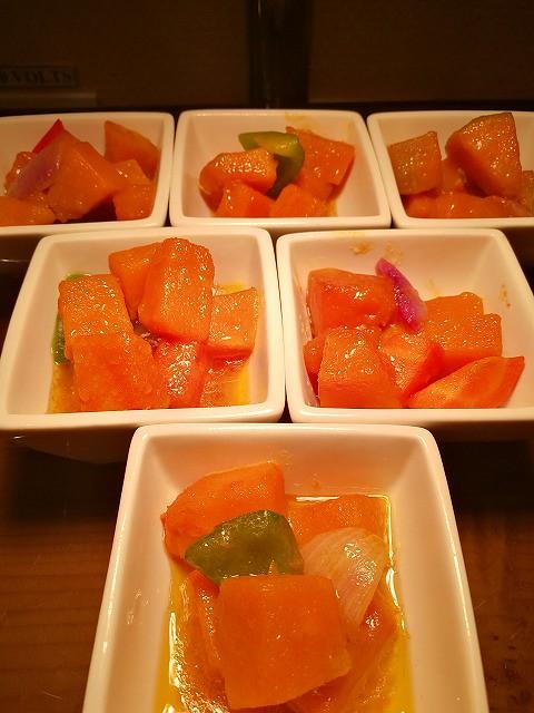 <p>野菜のソテー</p>