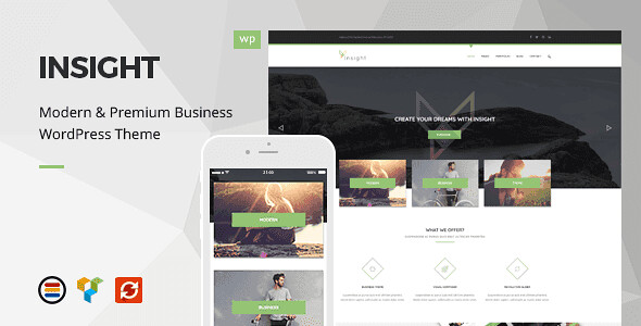 Insight WordPress Theme free download