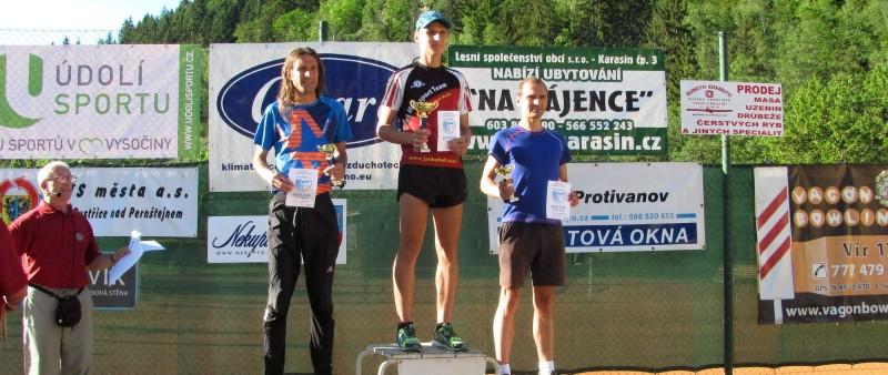Kohut a Martincová vyhráli silniční horský běh ve Víru