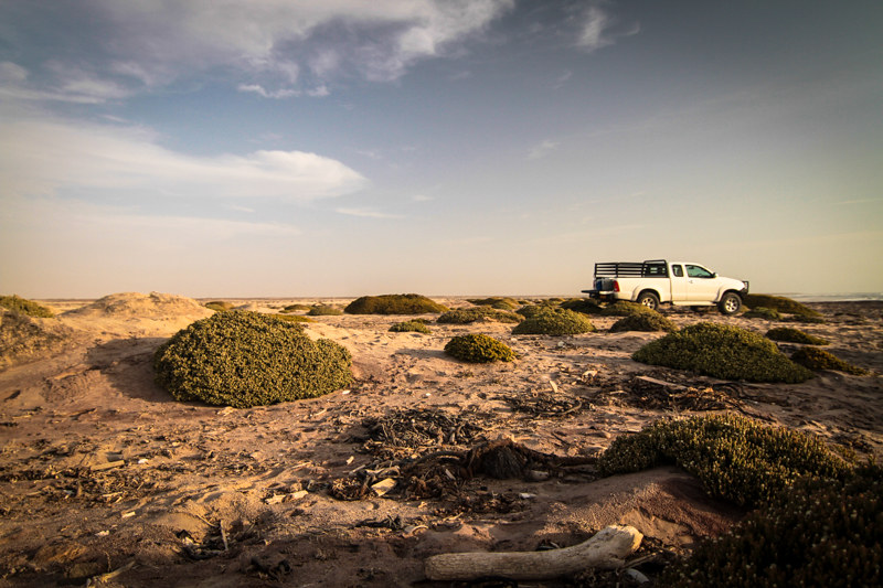 Namibia Strand Atlantik Swakopmund Küste