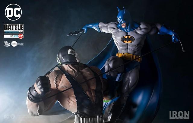 Iron Studios【蝙蝠俠大戰班恩】Batman vs. Bane Diorama 1/6 比例全身雕像作品