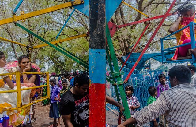 Merry go round    Koovagam  Annual Transgender Festival,India