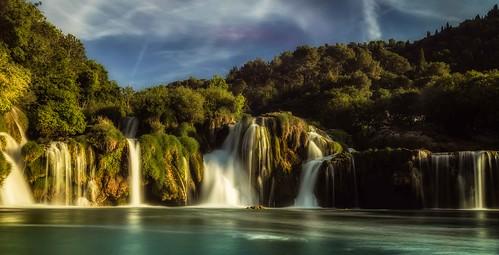 Skradinski Buk, Krka Waterfalls in Croatia