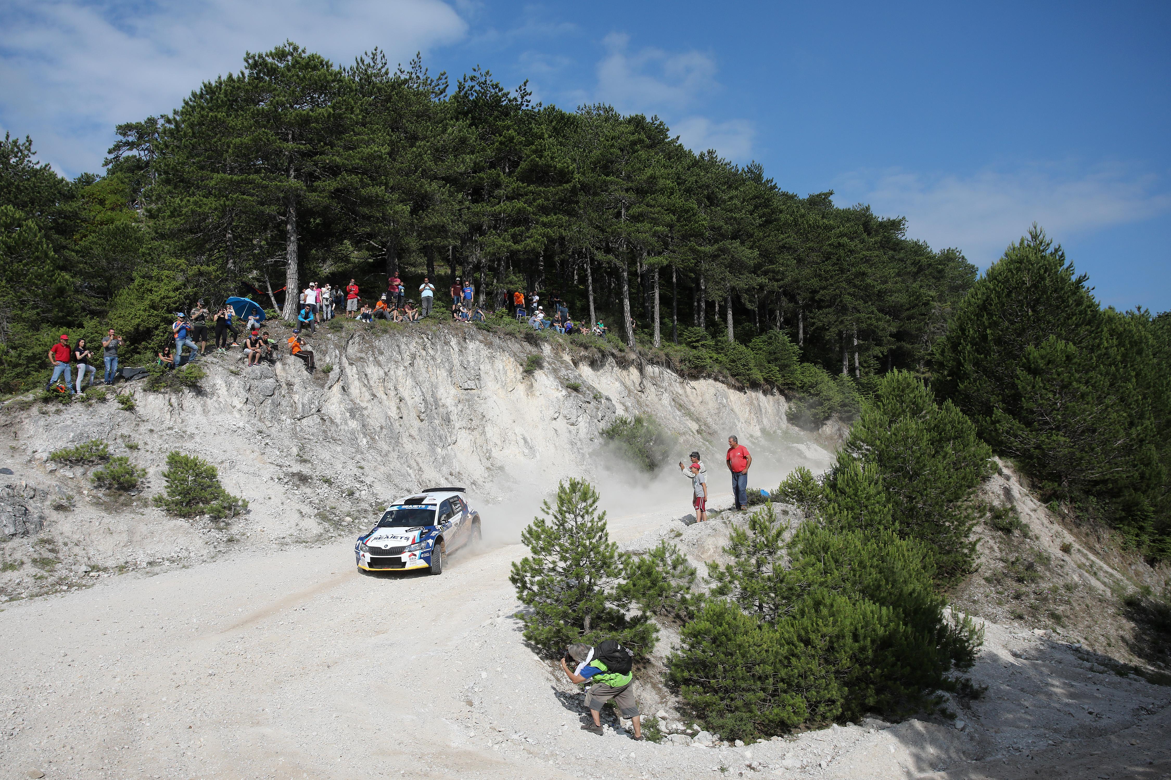 EKO Acropolis Rally, l'itinerario in numeri