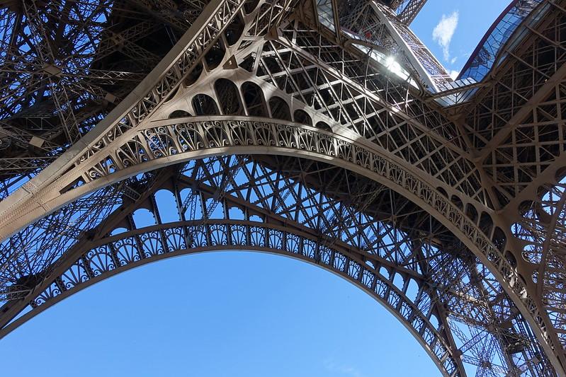 Waiting in line @ Eiffel Tower @ Paris