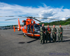 The USCG MH-65 Aircrew and Their MH-65