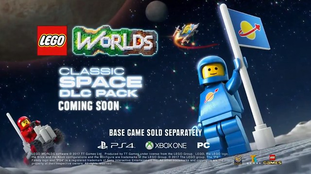 Lego Worlds Classic Space DLC Pack
