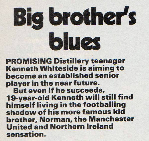 Big Brother's Blues, Shoot! 8th Jan 1983