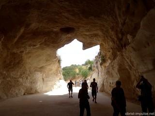 Herz in Bet-Guvrin-Marissa-Nationalpark Israel