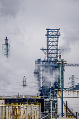 petrol refinery chemical plant near detroit michigan