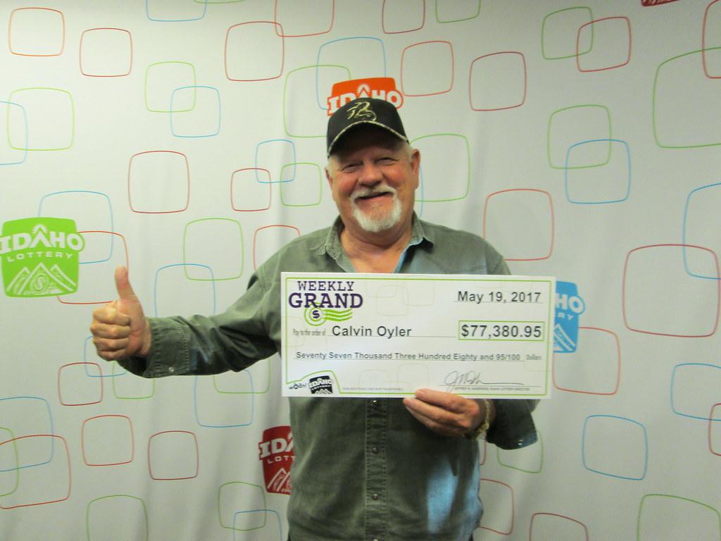 Calvin Oyler - $77,380.95 - Weekly Grand Jackpot - Orofino - Idaho Liquor Store