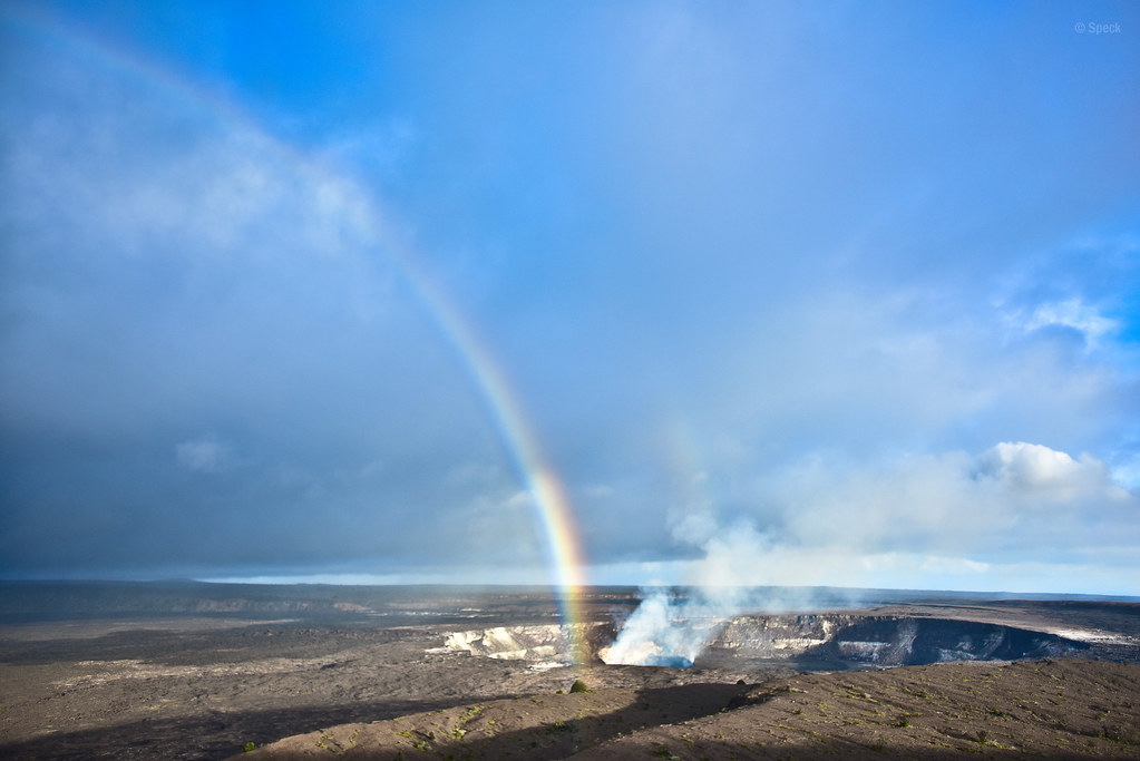 Kilauea and Rainbow