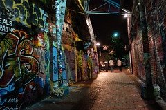 Graffiti Alley - Cambridge