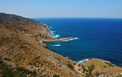Ikaria, the dry part of the island