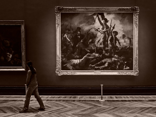 Liberty Leading the People, The Louvre, Paris, 2015