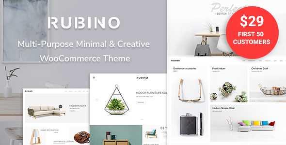 Rubino WordPress Theme free download