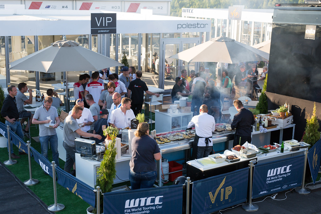 ambiance barbecue during the 2017 FIA WTCC World Touring Car Race of Nurburgring, Germany from May 26 to 28 - Photo Antonin Vincent / DPPI