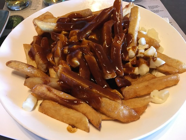 Hand-cut poutine - Amsterdam BrewHouse