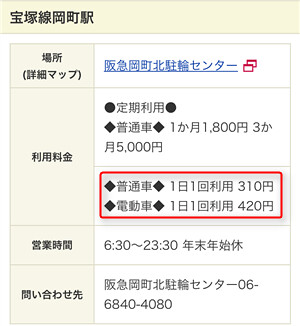 170530 岡町駅レンタサイクル