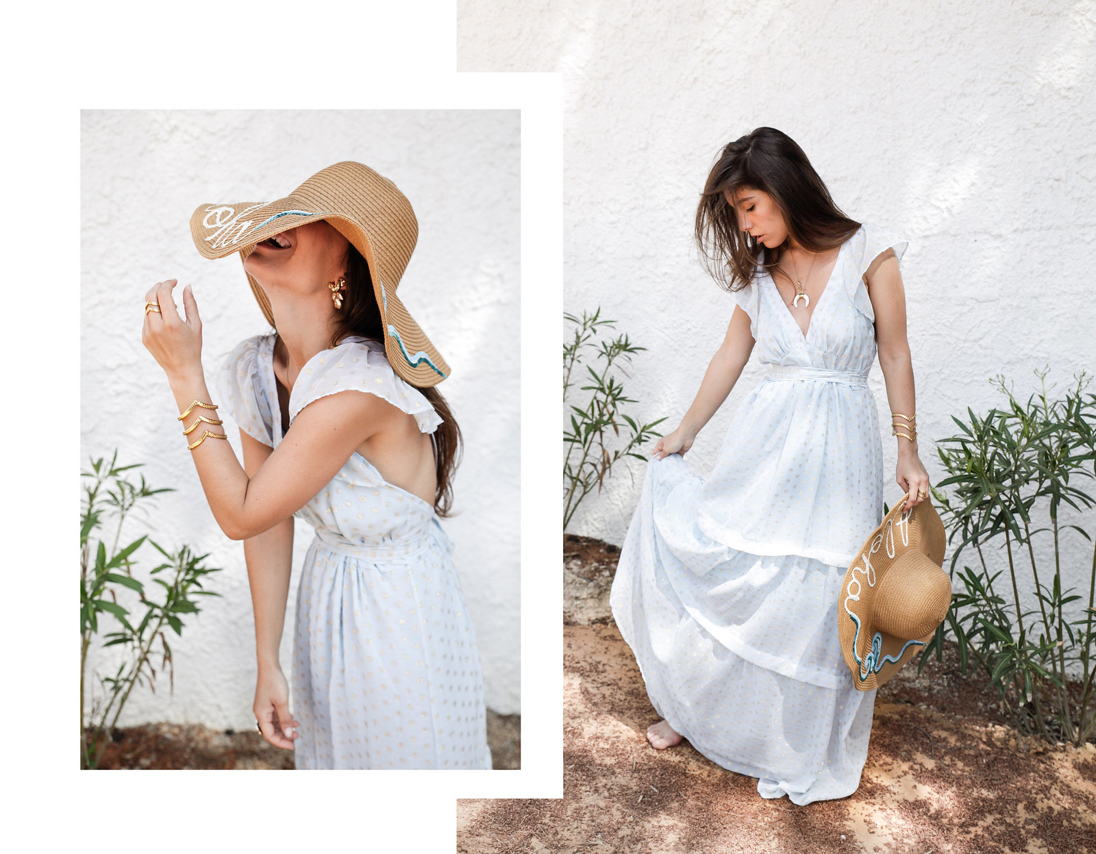 015_golden_dots_lunares_dorados_vestido_azul_boho_deby_debo_long_dress_theguestgirl_influencer_barcelona_style_content_creator_fashion_spain