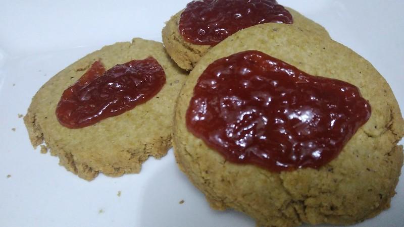 Cookies de Castanha do Pará e Goiabada