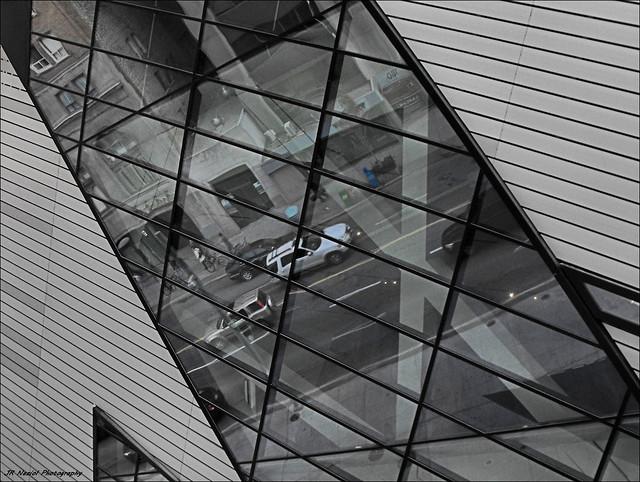 Reflections in Glass, Fujifilm FinePix S1000fd
