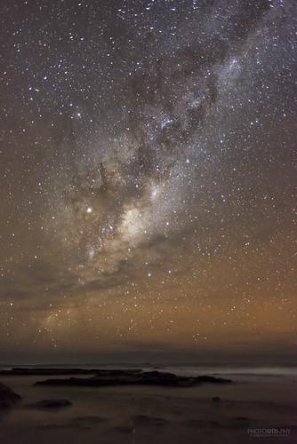 Milky Way over Jervis Bay