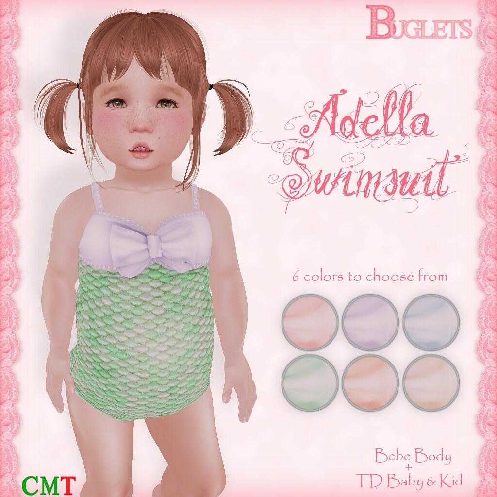 Adella Swimsuit AD - SecondLifeHub.com