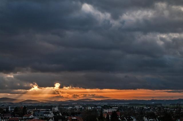 Sunset, Pentax K-7, smc PENTAX-DA 18-55mm F3.5-5.6 AL WR