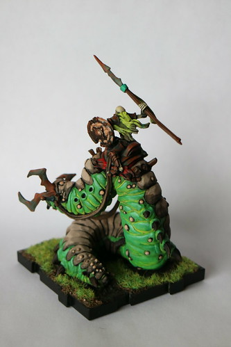 Runewars Miniatures Carrion Lancer Front