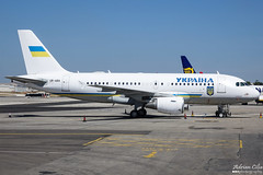 Ukraine Government --- Airbus A319CJ --- UR-ABA
