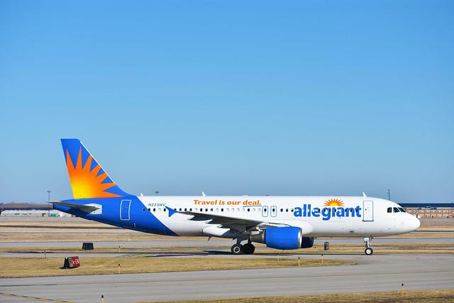 Allegiant Air –  Airbus A320-214 N225NV @ Niagara Falls
