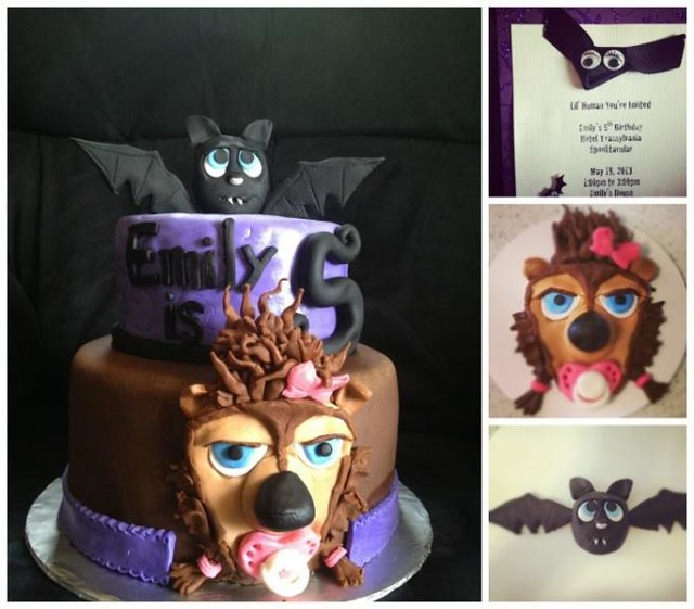 Hotel Transylvania Cake by Jaime Marie Morehouse of Cakes To Envy