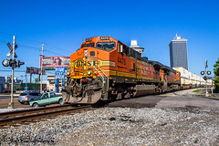 BNSF 4478 | GE C44-9W | NS Memphis District