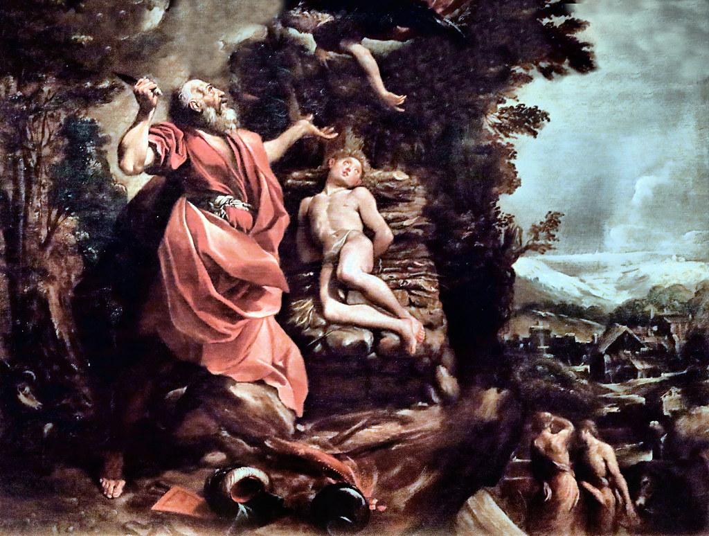 IMG_5865B ABRAHAM ET ISAAC : LE SACRIFICE, DANS LES RELIGIONS ET LES  IDEOLOGIES.