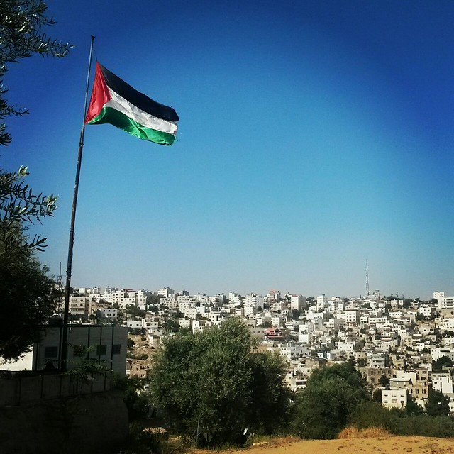 Vista da cidade de Hebron - Créditos: Leonardo Nogueira